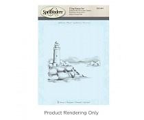 DSC-044 Spellbinders Lighthouse 3D Shading Stamp