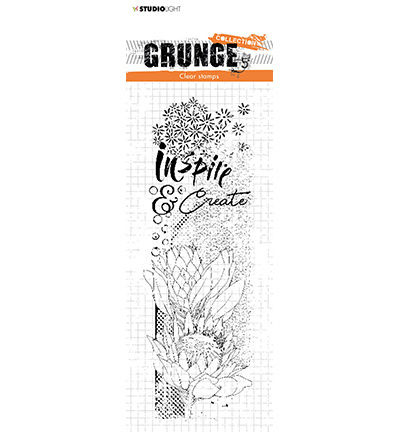 STAMPSL496 Studio Light Clear Stamp Grunge Collection nr.496