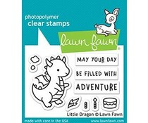 LF2323 Lawn Fawn Little Dragon Clear Stamps
