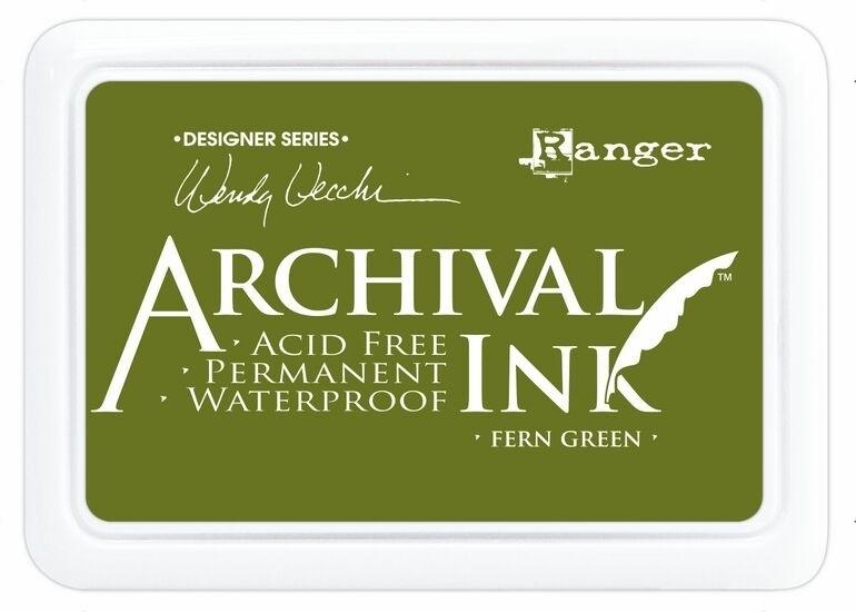 AID 41436 Wendy Vecchi Designer Series Archival Ink Pad Leaf Green