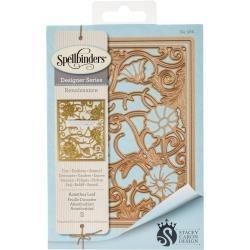 S4586 Spellbinders Card Creator Die Acanthus Leaf Card Front