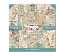 SBBL65 Stamperia Imagine 12x12 Inch Paper Pack