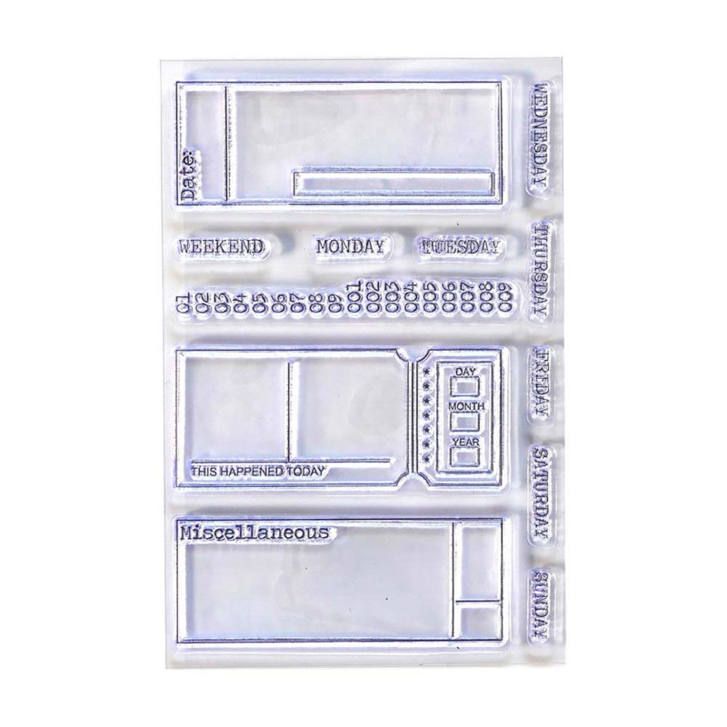 CS177 Elizabeth Crafts Clear Stamps Sidekick Essentials 2