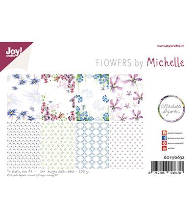 6011/0632 Joy!Crafts Papier Set A4 Michelle