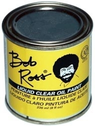 455980 Bob Ross Oil Paint Clear