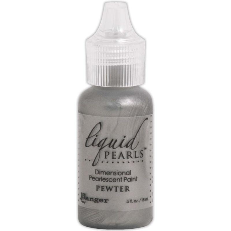 LPL 46813 Liquid Pearls Glue Pewter