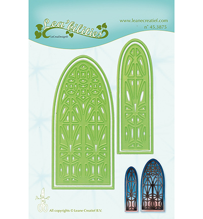 45.3875 LeCrea'Multi Die Cutting/Emb. Church window