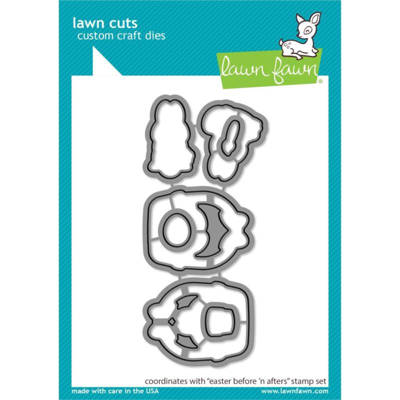 LF2231 Lawn Cuts Custom Craft Die Easter Before 'n Afters