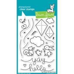 LF1169 Lawn Fawn Clear Stamps Yay, Kites!