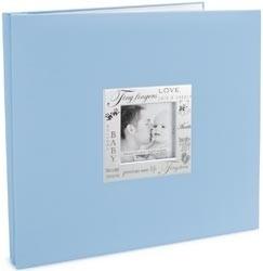 352349 Expressions Postbound Album Baby - Blue