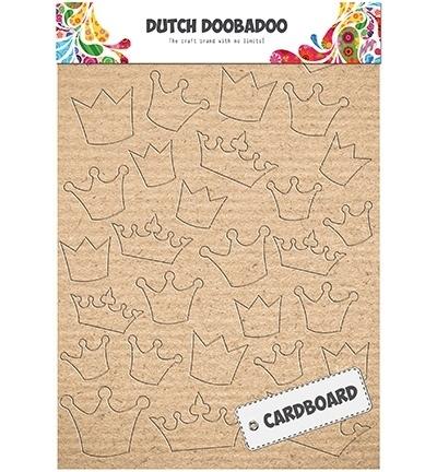 472.309.004 Cardboard Art Crowns