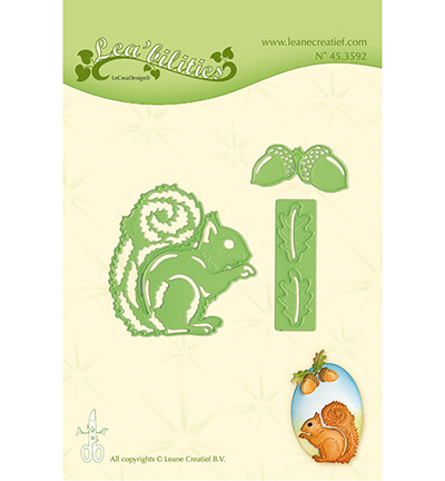 45.3592 Lea'bilitie Cutting/Emb. Squirrel