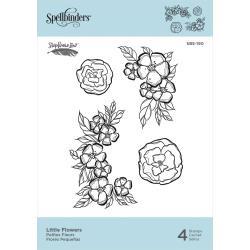 SBS190 Spellbinders Cling Stamps Little Flowers  By Stephanie Low