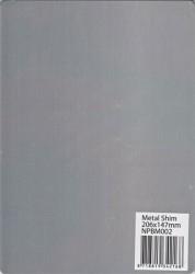 115640/0022 Nellies Choice A5 Metal shim
