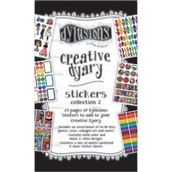 DYE60123 Dyan Reaveley's Dylusions Creative Dyary Sticker Book 2