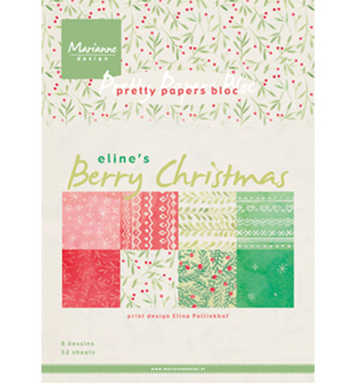 PB7053  Marianne Design Berry Christmas
