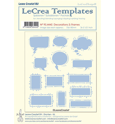 95.4445 LeCrea Templates Frames
