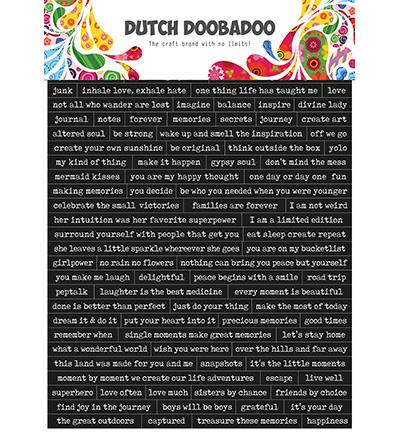 491.200.001 Dutch DooBaDoo Quotes