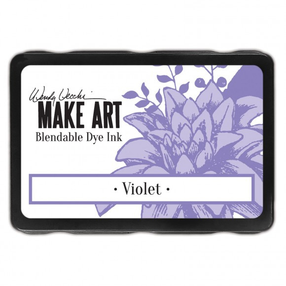 WVD62660 Wendy Vecchi Make art blendable dye ink pad violet