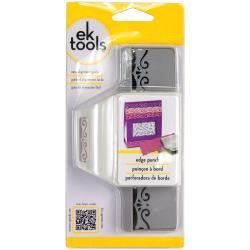 "E5440124 Edge Punch Elegant Flourish Scroll, 2""X1"""