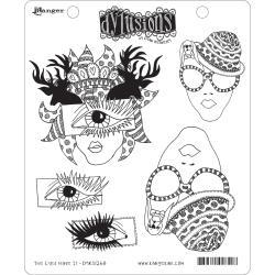 264704 Dyan Reaveley's Dylusions Cling Stamp The Eyes Have It