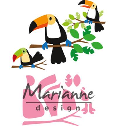 COL1457 Marianne Design Collectable Eline's toucan