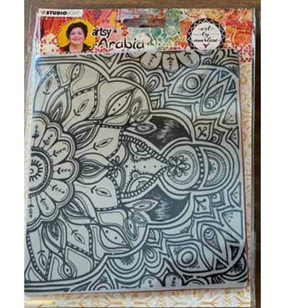 TPBM04 Art By Marlene Texture Plates Artsy Arabia, nr.04
