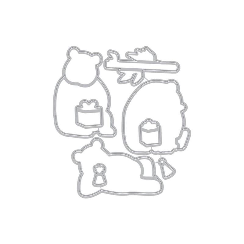 659562 Hero Arts Frame Cut Dies Birthday Panda