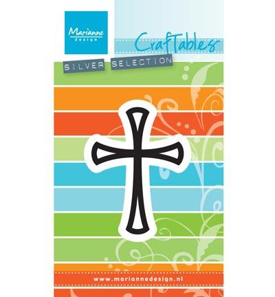 CR1400 Marianne Design Craftables Graceful cross