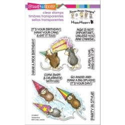 560570 Stampendous Perfectly Clear Stamps Birthday Splash