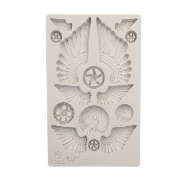966614 Prima Marketing Mould cogs and wings 5x8""