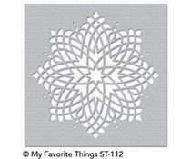 ST-112 My Favorite Things Captivating Mandala Stencil