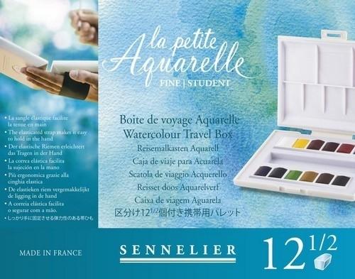313113/1680 Sennelier La Petite Aquarelle set 12 halve napjes N131680.00