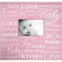 """234351 Baby Expression Post Bound Album 12""""X12"""" Pink"""