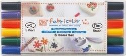 471034 Zig Fabricolor Twin Tip Marker