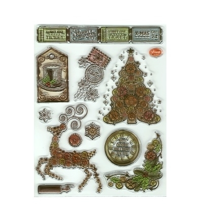 7013 - Clear Stamps - Weihnachts SteamPunk