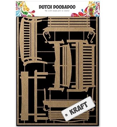 479.002.006 Dutch Kraft - Kraftpapier Benches