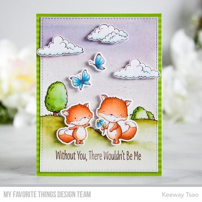 MFT-1519 My Favorite Things Friendly Foxes Die-namics