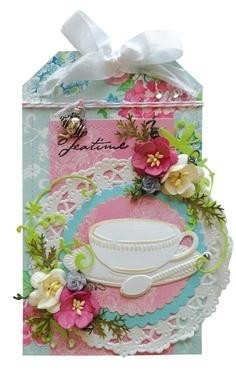 CR1238 Marianne Design Craftable Tea cup with spoon