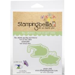 447226 Stamping Bella Cut It Out Dies The Gnome & The Butterfly