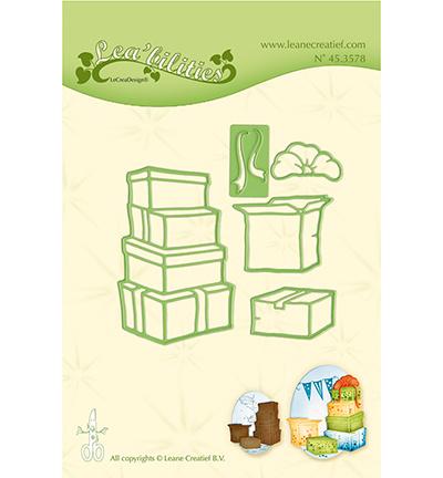 45.3578 Lea'bilitie Cutting/Emb. Boxes / presents