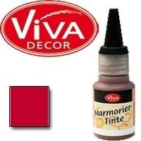 124940004      Marmorier Tinte - Rot