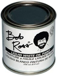 455978 Bob Ross Oil Paint Liquid White