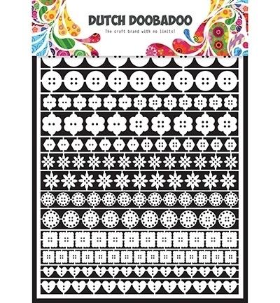 472.948.010  Dutch Doobadoo Laservel Buttons