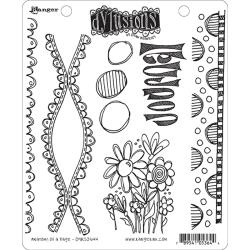 428550 Dyan Reaveley's Dylusions Cling Stamp Anatomy Of A Page