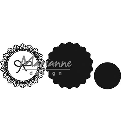 CR1414 Marianne Design Craftables Twine circle