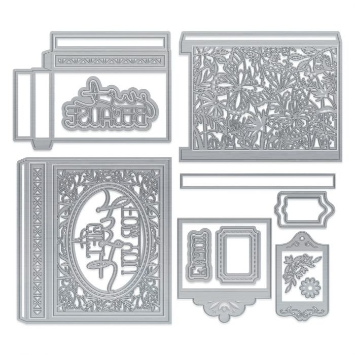 3671E Tonic Studios Dimensions Magic double sliding box