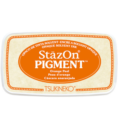 SZ-PIG-71 Tsukineko StazOn Pigment Orange Peel