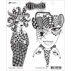 321642 Dyan Reaveley's Dylusions Cling Stamp Collections Endeavour