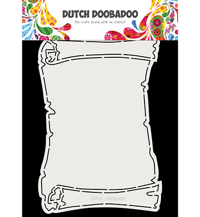 470.713.718 Dutch DooBaDoo Fold Card Treasure Map